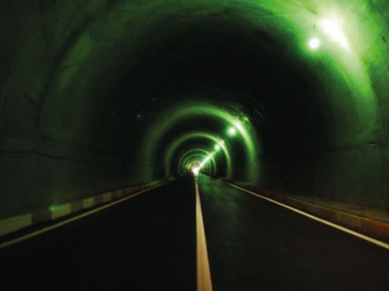 Interior and Exterior Works of Peshraw Tunnel